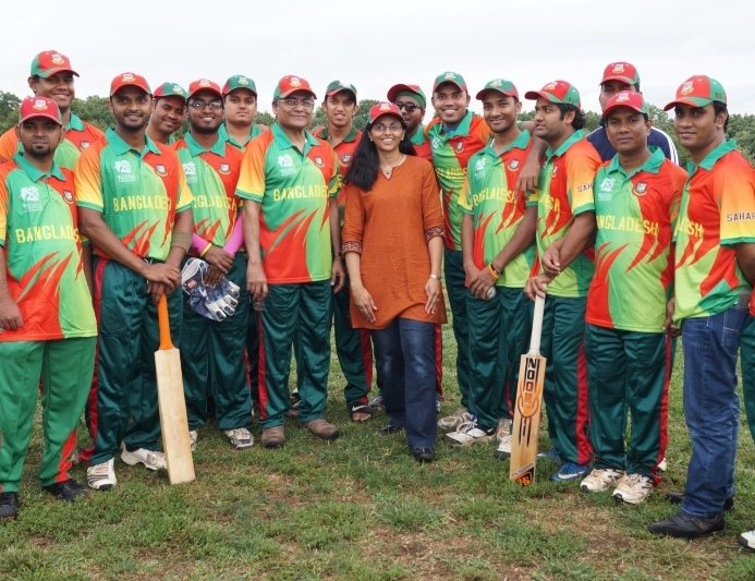 Bangladesh Cricket Team in Washington DC 2014