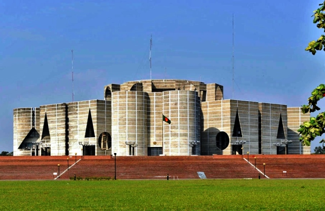 National Parliament Building (Jatiyo Sangshad Bhaban), Dhaka